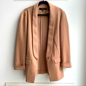 Tan Slim Fit Blazer